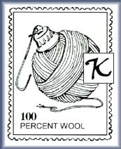 Faux Postage Stamp